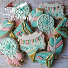Cookies for a Bride Tribe #Bachelorette weekend. I loved making these. Inspired…