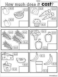 This resource contains a variety of activities that will help students play with money. This resource contains a variety of activities that will help students play with money. Money Worksheets, 2nd Grade Worksheets, School Worksheets, 2nd Grade Math, Grade 2, Money Activities, Money Games, Math Resources, Learning Money