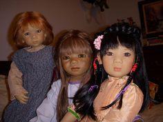Lisi, Arapati, Mia Yin #Himmies Dolls