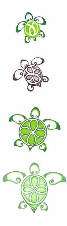Sea turtle tattoo idea for a henna tattoo Trendy Tattoos, Small Tattoos, Cool Tattoos, Tatoos, Ocean Tattoos, Tribal Turtle Tattoos, Turtle Henna, Hawaiian Turtle Tattoos, Turtle Tattoo Designs