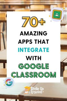 Check out this list of over 70 Awesome Apps that Integrate with Google Classroom! Did you know that Google Classroom plays well with others? Yep! Google is known for making their applications open to working with third-party applications, and Google Classroom is no exception. Free Teaching Resources, Teacher Resources, Best Apps, Third Party, Google Classroom, Educational Technology, Story Structure, Plays, Curriculum