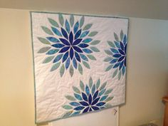 Looking for quilting project inspiration? Check out Sea Glass by member SuziMaggard. - via @Craftsy