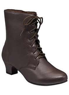 Amazon.com | Women's Adult Angel Flex Jada synthetic 12 Medium US Women / Brown | Boots