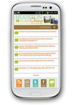 City info mobile website