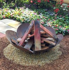 35 Metallic Hearth Pit Designs and Outside Setting Concepts. >>> Take a look at even more at the picture