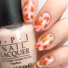 """If you're unfamiliar with nail trends and you hear the words """"coffin nails,"""" what comes to mind? It's not nails with coffins drawn on them. It's long nails with a square tip, and the look has. Fall Acrylic Nails, Autumn Nails, Fall Nail Art Designs, Acrylic Nail Designs, Cute Nails, Pretty Nails, Gel Nails, Nail Polish, Nagellack Trends"""