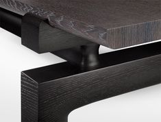 Holly Hunt Laredo Tail Table Detail Of Wood