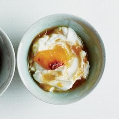 Ginger-Peach Conserve   The warm heat of ginger perfectly complements sweet peaches in this thick fruit sauce that's delicious on yogurt, ice cream or even on a piece of toast.