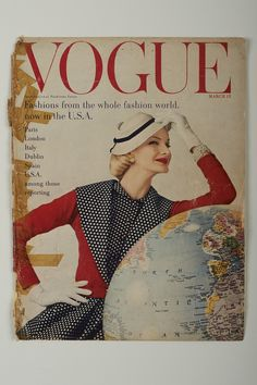 Vogue, March 1955 The appearance of her designs in these magazines firmly established Sybil as an internationally recognised designer on par with those from Paris, London and New York.
