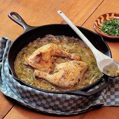 Braised chicken thighs, Braised chicken and Chicken thighs on ...