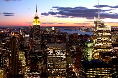 Nestled in the heart of New York City, Top of the Rock Observation Deck is a must-see New York experience!