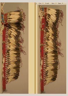 Sioux or Cheyenne trailer bonnet.  NMNH  ac