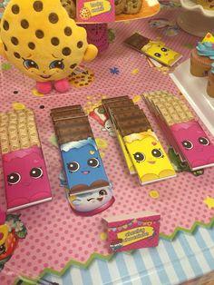 Cheeky chocolate shopkins Hershey bars