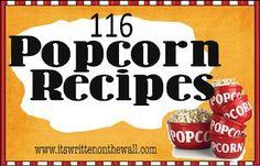 116 Popcorn Recipes
