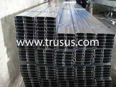 Popular Pattern Indoor Decorative Track Metal Furring Channel Sizes