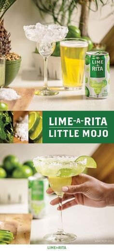 Nothing says welcome to warm weather like a refreshing hint of mint. So we're mixing Lime-A-Rita, 4 oz Bud Light Lime, ¾ oz lime juice, and mint sprigs for a fresh take on a classic. Welcome to yo Party Drinks, Cocktail Drinks, Fun Drinks, Cocktail Recipes, Cocktails, Refreshing Drinks, Summer Drinks, Summer Parties, Lime A Rita