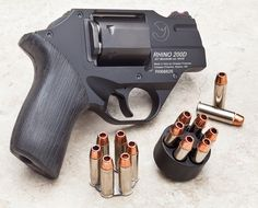 Rhino 200D .357 Magnum revolver by Chiappa Firearms Find our speedloader now! http://www.amazon.com/shops/raeind