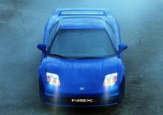 Honda NSX 2002 blue