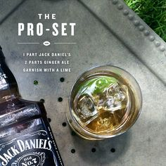Drink like a winner with Jack & Ginger #JackDaniels #Tailgate #Gameday…