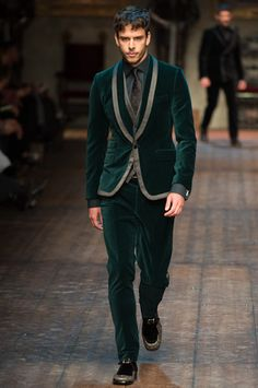 Dolce & Gabbana Fall 2014 Menswear Collection Slideshow on Style.com