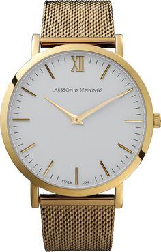 Larsson & Jennings Gold Chain Watch
