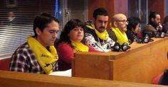 EH Bildu muestra en el pleno su solidaridad con los detenidos por ayudar a refugiados