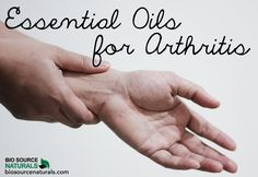 Essential oils and aromatherapy can be a great help to those who struggle with arthritis, arthritis pain, and arthritis inflammation. Learn which oils are best for you with BioSource Naturals!