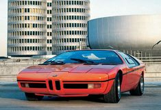 1972 E25 BMW TURBO, built to commemorate the 1972 Munich Olympics, only 2 were ever built
