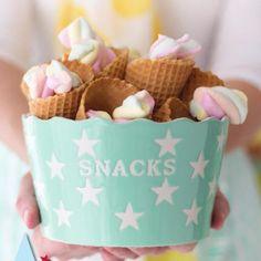 Snack Kom Stars Mint
