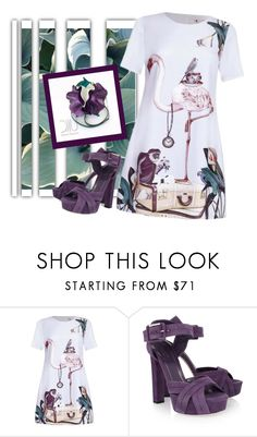 """""""Jungle"""" by mia-de-neef ❤ liked on Polyvore featuring Inca and Gucci"""