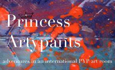 Princess Artypants: Visual Arts adventures in an internation PYP art room. Blue Dog Painting, Teacher Blogs, Teacher Websites, Art Classroom Management, Art Central, Teaching Art, Teaching Ideas, Kindergarten Centers, My Art Studio