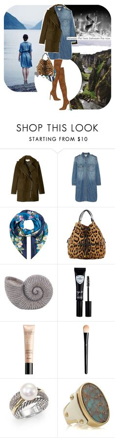 """""""Between the winds, between the waves"""" by ladysnape ❤ liked on Polyvore featuring National Geographic Home, O'2nd, Emilio Pucci, Current/Elliott, Valentino, Jérôme Dreyfuss, Eyeko, Essie, Guerlain and David Yurman"""