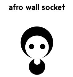 Afro Wall Socket