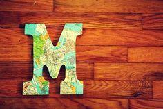 22 Mod Podge map crafts you'll love. - Mod Podge Rocks