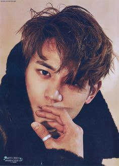 """Minho of K-pop group SHINee said in a recent interview with fashion magazine High Cut that he was at first reluctant to take up a lead role in the movie """"Two Men,"""" but changed his mind after a phone call from actor Ma Dong-seok. Lee Min Ho, Choi Min Ho, Minho Shinee, Taemin, Jung Suk, Lee Jong Suk, Jong Hyun, Daesung, Bigbang"""