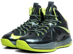 """Nike LeBron 10 """"Dunkman"""" (限量款各尺寸只剩一雙)   原價5750,特賣價只要3499,買到賺到啦!"""