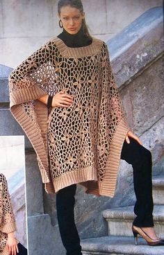 Gaucho Poncho Pattern - Crochet Patterns