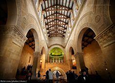 Inside the Church of Transfiguration, Mount Tabor, Israel