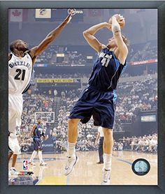 6123e061 Dirk Nowitzki Dallas Mavericks NBA Action Photo Size 12 x 15 Framed ** You  can get more details by clicking on the image.