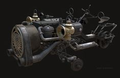 Reverse Trike, Dieselpunk, Cars And Motorcycles, Motorbikes, Steampunk, Journey, Military, Vehicles, Bags