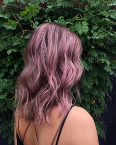 "85 Likes, 5 Comments - CO Stylist • Balayage + Vivids (@holisticsalon) on Instagram: ""Metallics are officially my new favorite thing! This metallic mauve is """