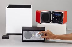 Bluetooth and AirPlay Speakers With a Retro, Tactile Appeal