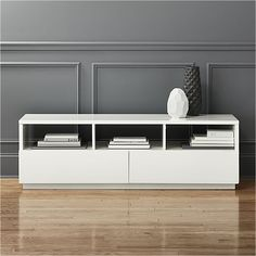 chill white media console * This is beautiful & comes in 2 sizes I believe if this ones too big