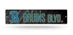 """UCLA Bruins Street Sign NEW! 4""""X16"""" """"Bruins Blvd"""" Man Cave NCAA"""