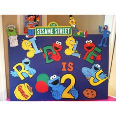 Sesame Street  made with Cricut