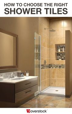 How to Pick the Best Shower Tiles. The shower is one of the most used & 71 best Bathroom images on Pinterest in 2018 | Spa bathrooms ...