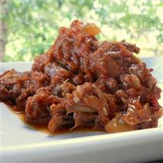 Honey Chipotle Barbecue Shredded Beef | Recipes To Try | Pinterest ...
