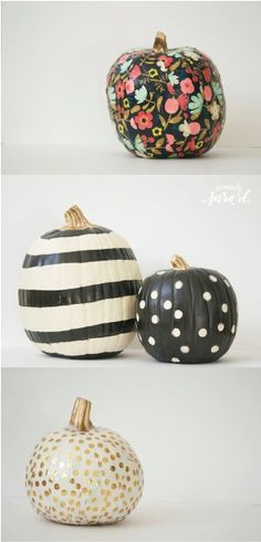 These Unique Ideas to Decorate a Pumpkin are a fun way to mix things up on Halloween. They're also great if you are trying to include the little kiddos and you want to avoid cutting and sharp knives while providing hours of creativity.