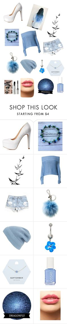 """Modern Cinderella"" by emmysutcliff ❤ liked on Polyvore featuring beauty, Charlotte Russe, TIBI, Carmar, Michael Kors, Phase 3, Miss Selfridge, Essie, LASplash and modern"