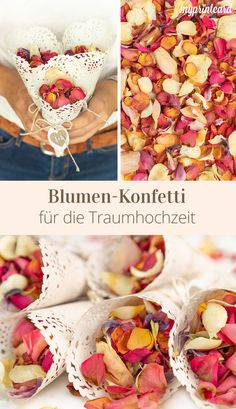 Blumen Hochzeit Flower confetti for the dream wedding ceremony Flowers belong to the marriage just l Sustainable Trends, Fleurs Diy, Diy Wedding Flowers, Seating Chart Wedding, Engagement Ring Cuts, Wedding Planners, Simple Weddings, Wedding Ceremony, Wedding Venues